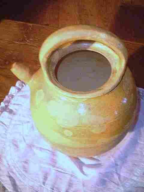 cruche ancienne en terre cuite antiquites brocante de la tour bibelots et objets photos. Black Bedroom Furniture Sets. Home Design Ideas