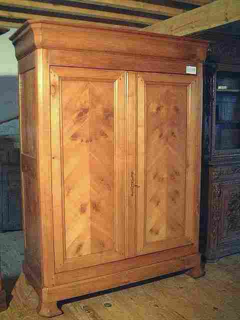 armoire ancienne lp merisier et ch taignier b tons rompus antiquites brocante meubles anciens. Black Bedroom Furniture Sets. Home Design Ideas
