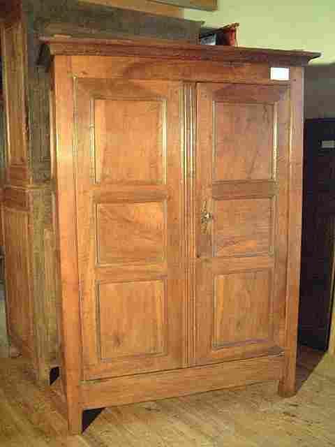 Armoirette noyer ch ne ancienne style directoire - Style meubles anciens ...