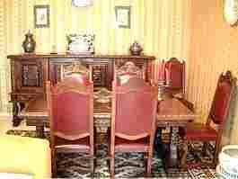 Pin salle manger style renaissance espagnole on pinterest for Salle a manger en espagnol