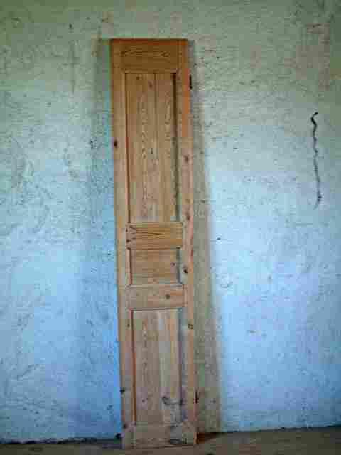 Une porte 3 panneaux en sapin haute antiquites for Porte 3 panneaux
