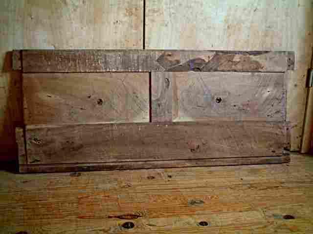 fa 231 ade ancienne de coffre 224 grains ancien en noyer antiquites brocante meubles anciens