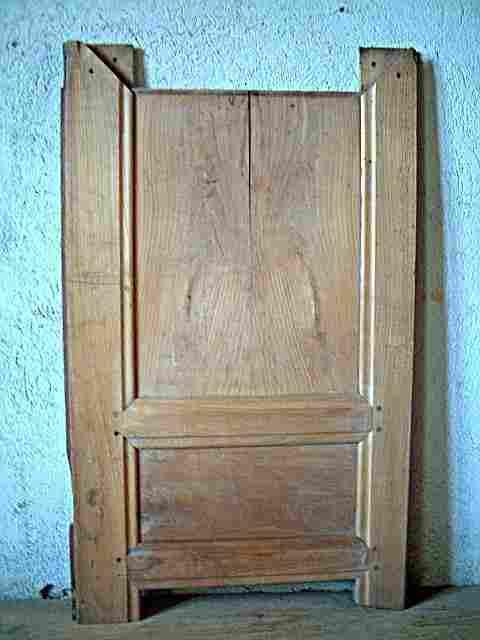 reste de porte pour r cup bois en merisier lp bois de tr s bonne qualit antiquites brocante. Black Bedroom Furniture Sets. Home Design Ideas