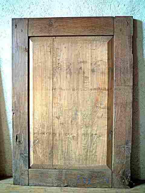 1 porte ancienne en chataignier et tilleul rustique bois for Meuble 1 porte bois