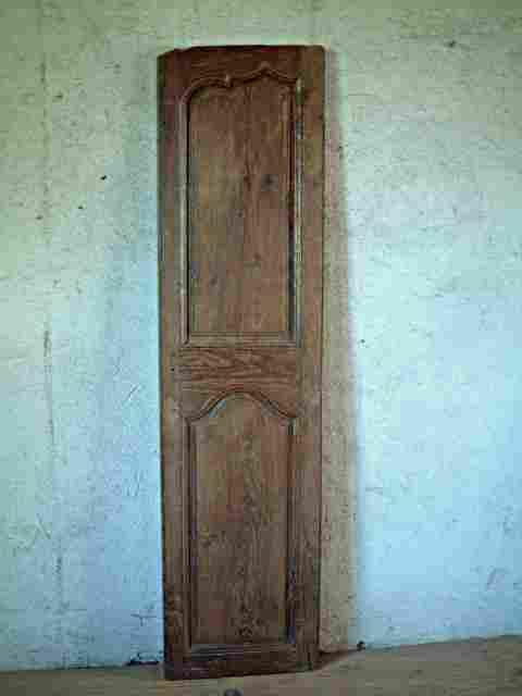 Une porte moulur e en ch ne louis 15 louis 14 rustique for Meuble ancien une porte