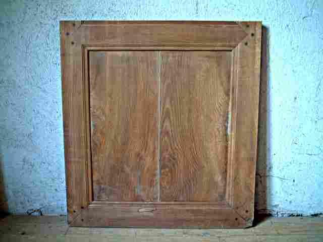 Une porte simple en ormeau philipparde antiquites for Meuble ancien une porte