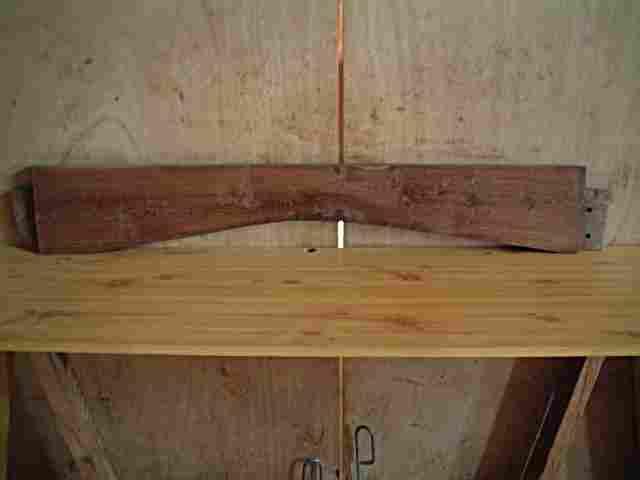 Traverse ancienne d 39 armoire en ch ne belle patine antiquites brocante meubles anciens - Traverse en chene ...