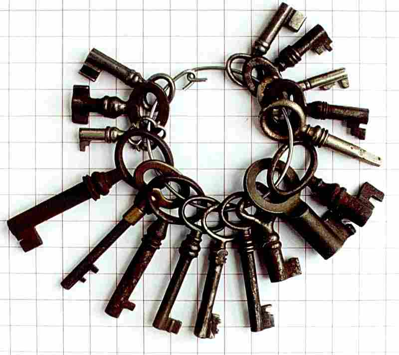 clefs anciennes de collection histoires des cl fs et leurs serrures. Black Bedroom Furniture Sets. Home Design Ideas