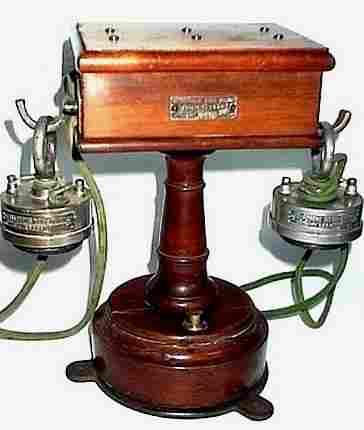 les t l phones mobiles et muraux avant 1900 histoire des t l phones d 39 autrefois. Black Bedroom Furniture Sets. Home Design Ideas
