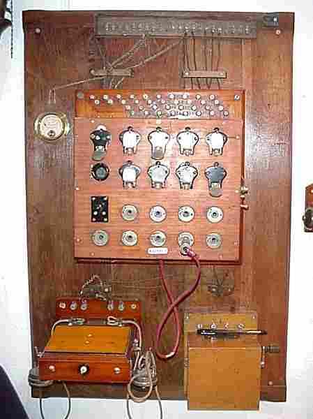 Les téléphones muraux d'avant 1900, histoire et téléphones ...