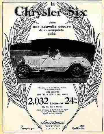 publicit automobile chrysler six donne une nouvelle preuve documents automobiles anciens v2. Black Bedroom Furniture Sets. Home Design Ideas