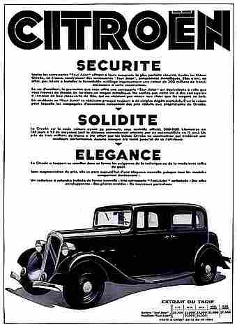 affiches publicitaires francophone de voitures anciennes page 6 documents anciens v1. Black Bedroom Furniture Sets. Home Design Ideas