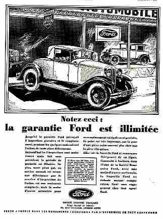 affiches publicitaires francophone de voitures anciennes page 10 documents anciens v1. Black Bedroom Furniture Sets. Home Design Ideas