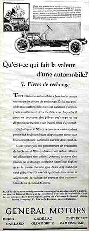 affiches publicitaires francophone de voitures anciennes page 11 documents anciens v1. Black Bedroom Furniture Sets. Home Design Ideas