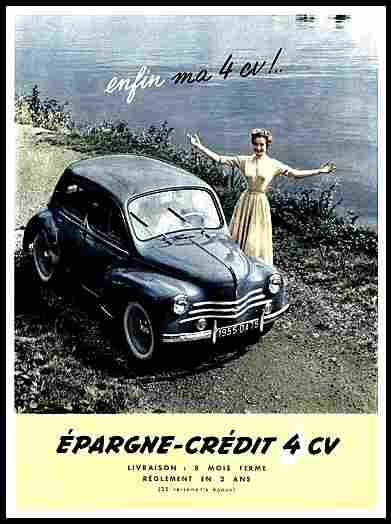 affiches francophone de pub auto