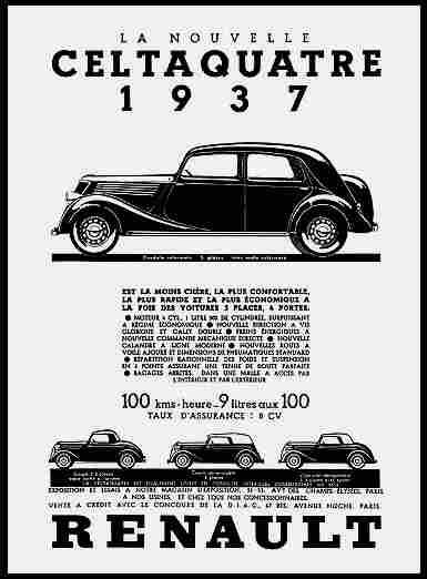 affiches publicitaires francophone de voitures anciennes page 22 documents anciens v1. Black Bedroom Furniture Sets. Home Design Ideas