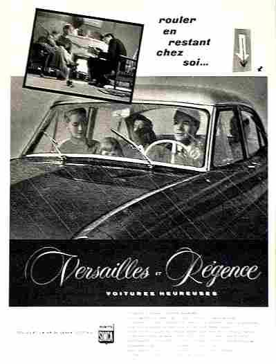 Affiches publicitaires francophone de voitures anciennes for Auto entrepreneur chez soi