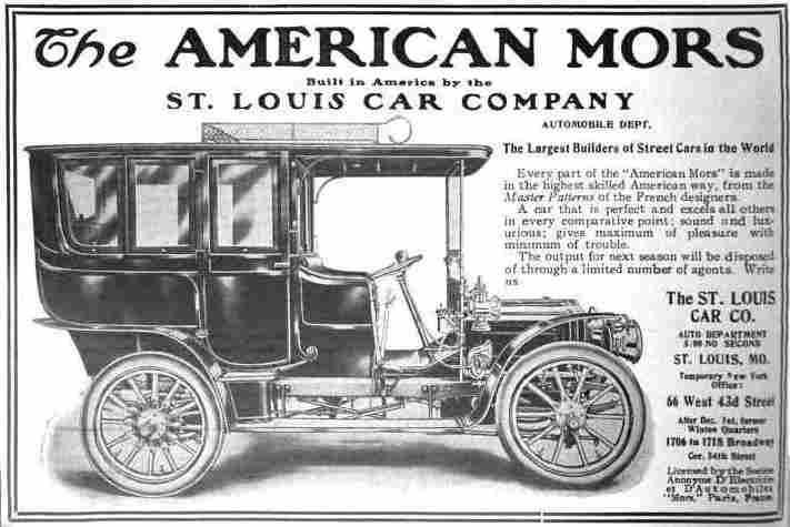 St Louis Compagnie Automobile, Documents Automobiles