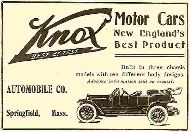 Affiches publicitaires voitures internationale de for New england motor car