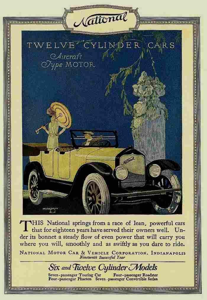Affiches publicitaires internationale de voitures for National motors used cars
