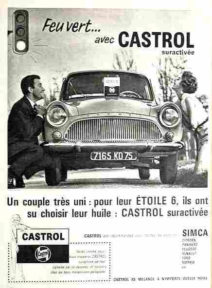 pub accessoire auto castrol huile pour votre toile 6 documents automobiles anciens v2. Black Bedroom Furniture Sets. Home Design Ideas