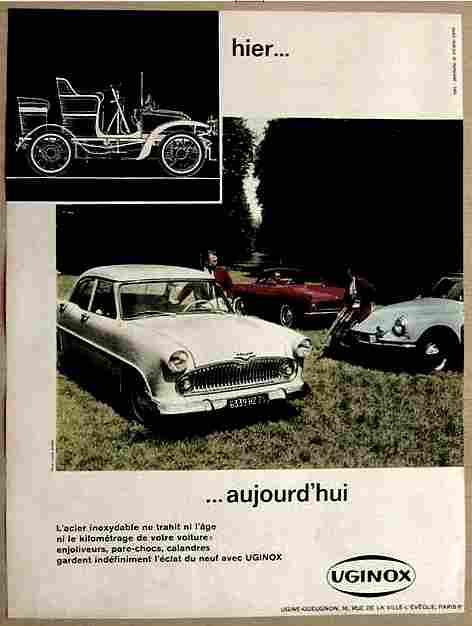 affiches de publicit d 39 accessoires automobiles page 11 documents anciens v1. Black Bedroom Furniture Sets. Home Design Ideas