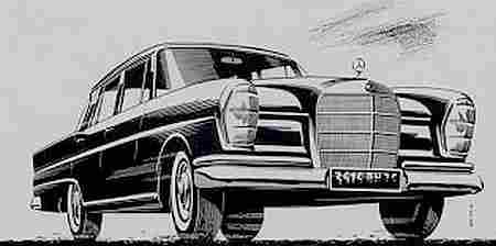 Dessins anciens de voitures de collections page 2 - Dessin voiture mercedes ...