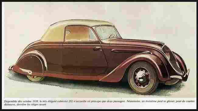 Dessins anciens de voitures de collections page 2 - Vieille voiture decapotable ...