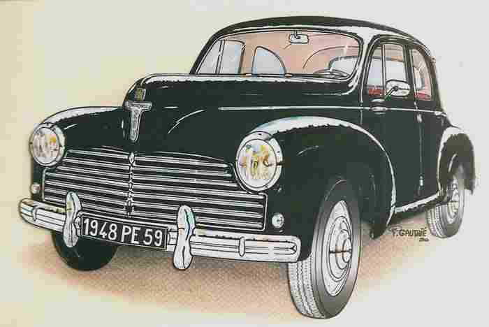 Dessins de v hicules anciens documents automobiles - Dessin vieille voiture ...