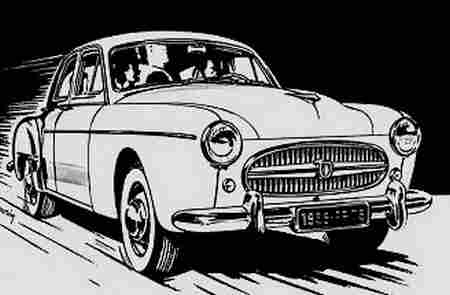 Dessins anciens de voitures de collections page 2 documents anciens v1 - Dessin renault ...