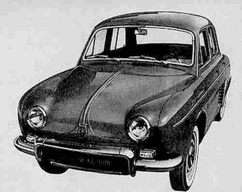 Photo Image, Renault La Dauphine-Gordini à 4 Vitesses, Documents Automobiles Anciens, V2