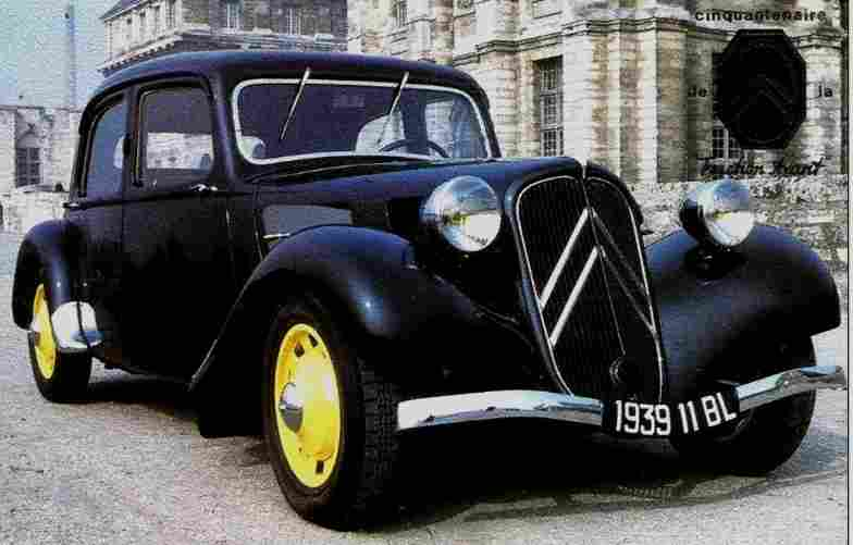 voitures traction avant. Black Bedroom Furniture Sets. Home Design Ideas