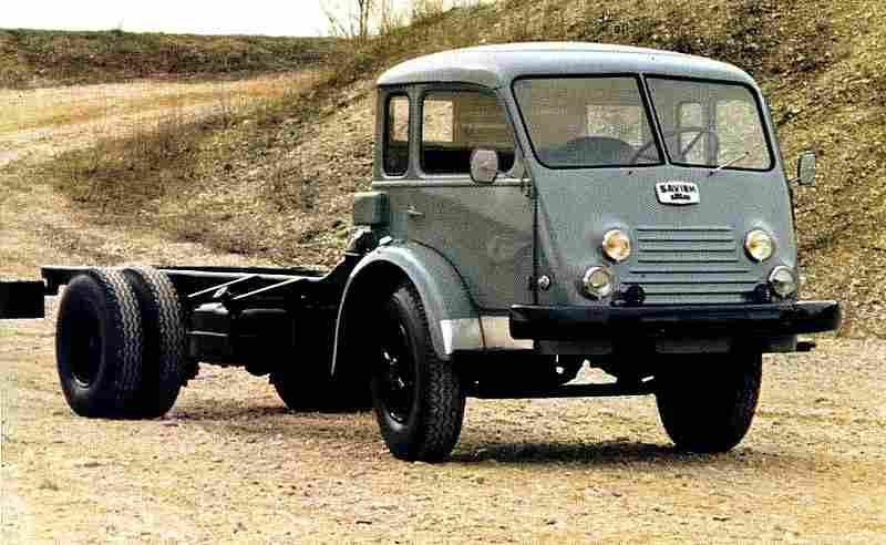 photographie originale renault ancien camion saviem type r 4154 documents automobiles anciens v2. Black Bedroom Furniture Sets. Home Design Ideas