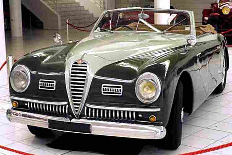 alfa romeo 6c 2500 sport ancienne voiture de 1947. Black Bedroom Furniture Sets. Home Design Ideas