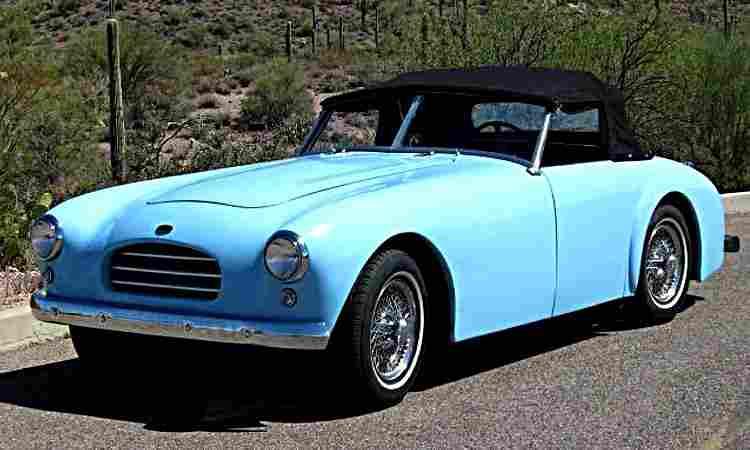 Voitures automobiles anciennes et véhicules anciens de 1950 à 1959 ...
