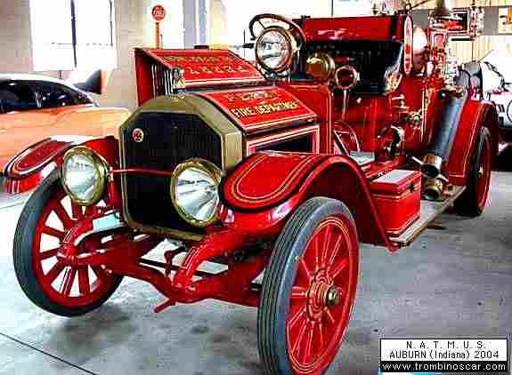 american lafrance type 40 pumper truck v hicule d 39 incendie 1918 voitures anciennes de. Black Bedroom Furniture Sets. Home Design Ideas