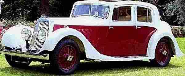 Aston Martin 15-98 de 1936