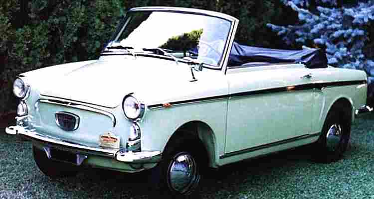 autobianchi bianchina cabriolet voiture routi re de 1960 voitures anciennes de collection v2. Black Bedroom Furniture Sets. Home Design Ideas