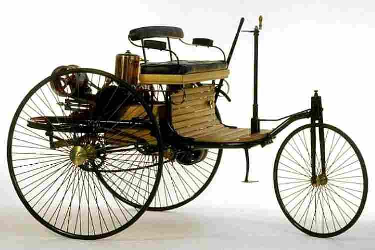 benz patent motorwagen model 1 concept de 1885 voitures anciennes de collection v2. Black Bedroom Furniture Sets. Home Design Ideas