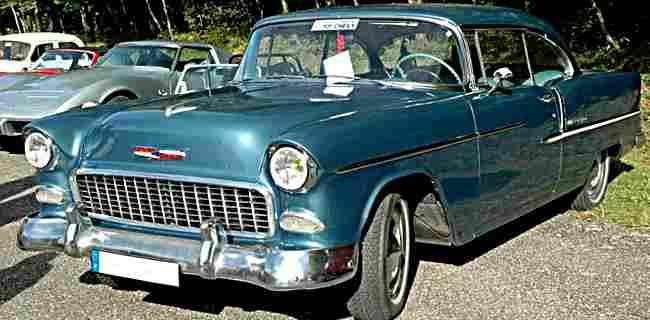 Les Voitures Automobiles De La Marque Chevrolet Voitures Anciennes