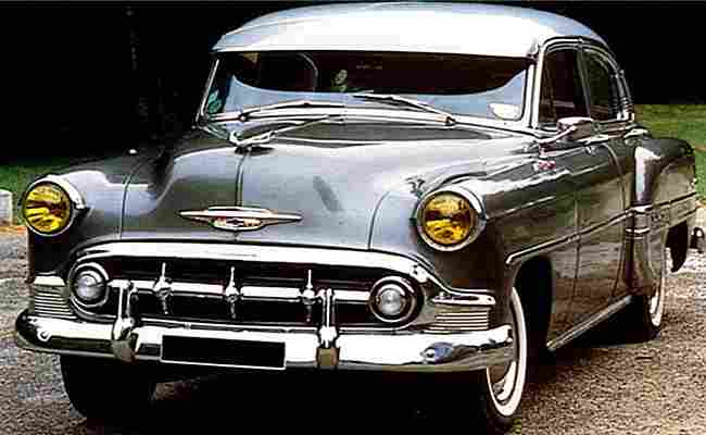 chevrolet bel air styleline routi re de 1950 voitures. Black Bedroom Furniture Sets. Home Design Ideas