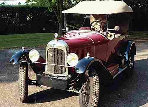 citroen 5 hp 1923 voitures anciennes de collection v2. Black Bedroom Furniture Sets. Home Design Ideas