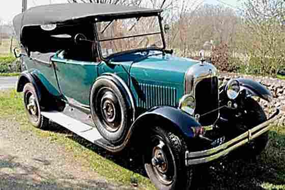 citroen b12 1925 voitures anciennes de collection v2. Black Bedroom Furniture Sets. Home Design Ideas