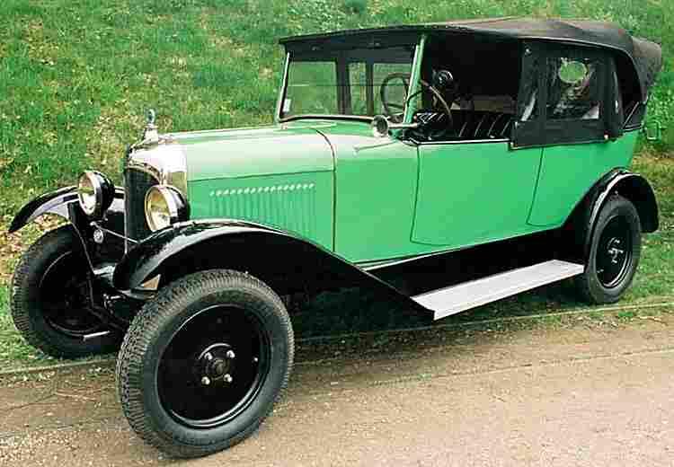 citroen type b10 voiture routi re de 1925 voitures anciennes de collection v2. Black Bedroom Furniture Sets. Home Design Ideas