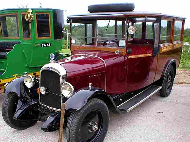 citroen type b14 1926 voitures anciennes de collection v2. Black Bedroom Furniture Sets. Home Design Ideas
