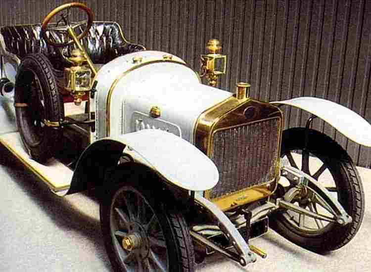 voiture de sport 1910