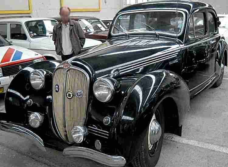 delahaye 148 l voiture routi re de 1947 voitures anciennes de collection v2. Black Bedroom Furniture Sets. Home Design Ideas