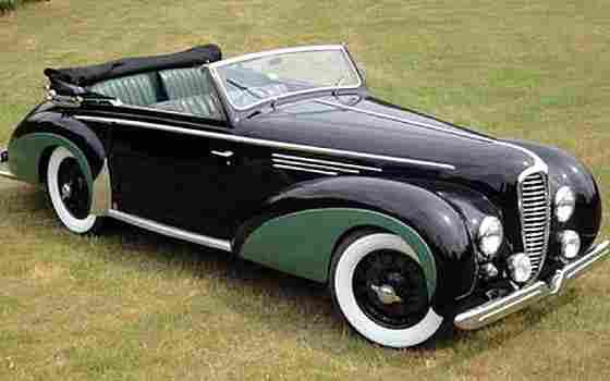 delahaye chapron 135 ms 1950 voitures anciennes de collection v2. Black Bedroom Furniture Sets. Home Design Ideas