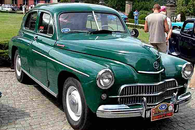 fso warszawa voiture routi re de 1950 voitures anciennes de collection v2. Black Bedroom Furniture Sets. Home Design Ideas