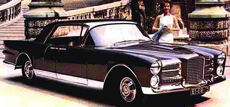facel vega excellence voiture routi re de 1956 voitures anciennes de collection v2. Black Bedroom Furniture Sets. Home Design Ideas